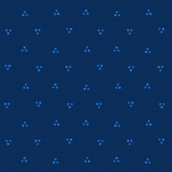 Garden Dot in Sapphire