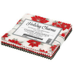 """Holiday Charms 5"""" Square Pack in 2021 Scarlet Colorstory"""