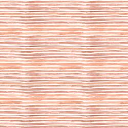 Small Watercolor Wash Stripe in Blush