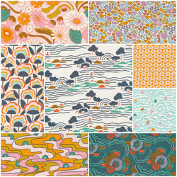 Good Vibrations Fat Quarter Bundle