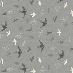 Swallows in Grey