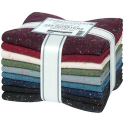 Shetland Speckle Flannel Fat Quarter Bundle in New Colors 2021