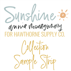 Sunshine Sample Strip