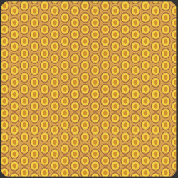Oval Elements in Mustard