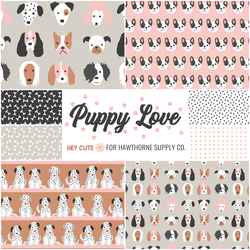 Puppy Love Fat Quarter Bundle