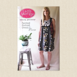 Painted Portrait Blouse and Dress
