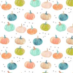 Pumpkins in Halloween