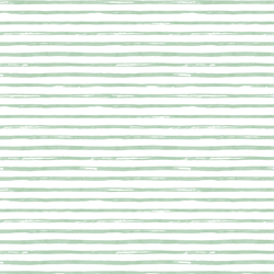Small Watercolor Stripes in Spearmint