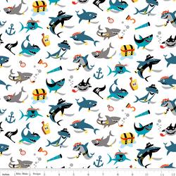 Shark Attack in White