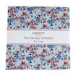 """The Carnaby Collection 10"""" Square Pack in Retro Indigo"""