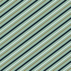 Summer Stripe in Leaf Green
