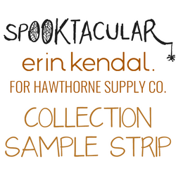 Spooktacular Sample Strip