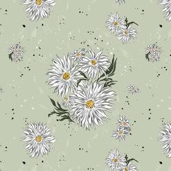 Wild Daisy in Matcha
