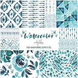 Watercolor Fat Quarter Bundle