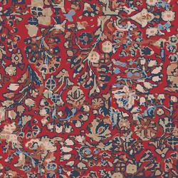Treasured Kermes Rayon in Crimson