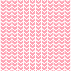 Broken Chevron in Rose Pink