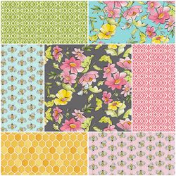 For The Love Of Bees Fat Quarter Bundle