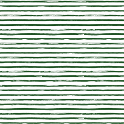 Small Watercolor Stripes in Evergreen