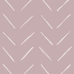 Large Chevron in Burnished Lilac