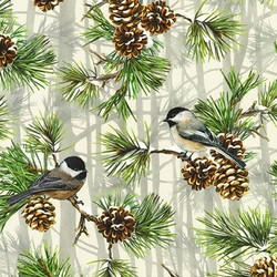 Pinecone in Chickadee