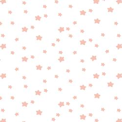 Star Light in Petal on White
