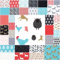 Farm Charm Fat Quarter Bundle