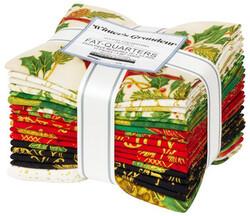 Winter's Grandeur 9 Fat Quarter Bundle in Holiday Colorstory
