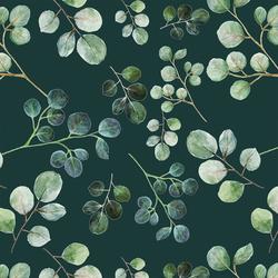 Eucalyptus Leaf in Deep Glade