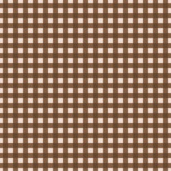Gingham in Dark Chocolate