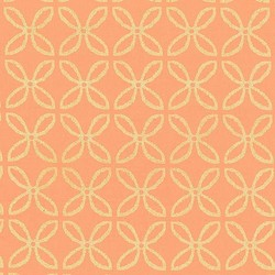 Clover Pearlized in Peach