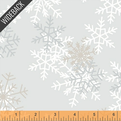 Snowflakes in Light Grey