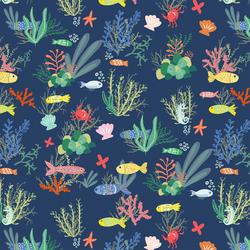 Ocean Floor in Deep Ocean