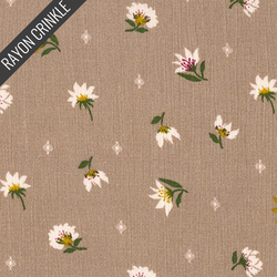 Garden Crinkle in Taupe