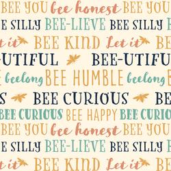 Bee You in Summer Garden