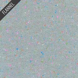 Shetland Speckle Flannel in Steel