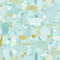 Pebbles in Aqua