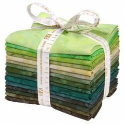 Artisan Batiks: Prisma Dyes, Rainforest Colorstory Fat Quarter Bundle
