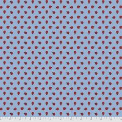 Ladybug Dot in Blue