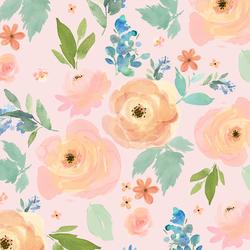 Spring Garden in First Blush