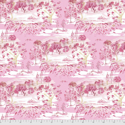 Toile Landscape in Pink