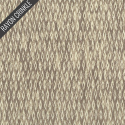Diamond Plated Crinkle in Taupe