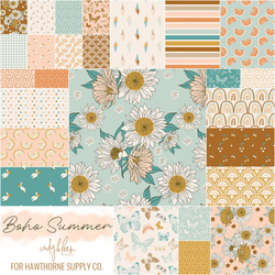 Boho Summer Fat Quarter Bundle