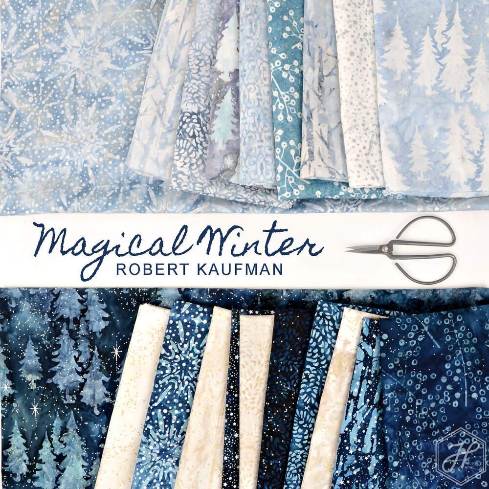 Magical Winter Batik Poster Image