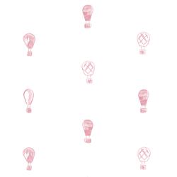 Polka Dot Balloons in Pink Dawn