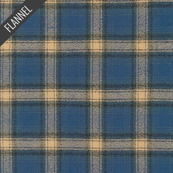 Mammoth Streak Plaid Flannel in Pacific