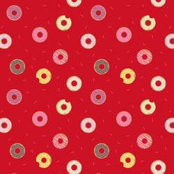 Doughnuts in Red