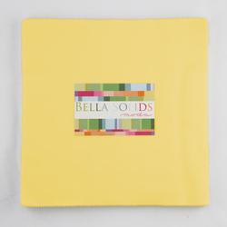 Bella Solids Junior Layer Cake in 30's Yellow