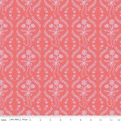 Wallpaper in Coral