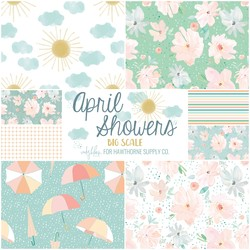 April Showers Fat Quarter Bundle Big Scale
