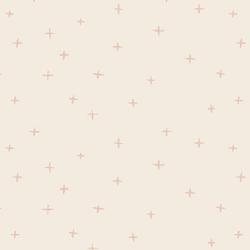 Swiss Crosses in Ballet Pink on Egret